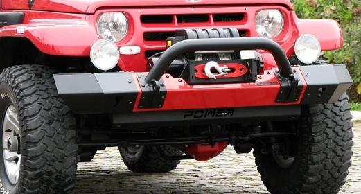 Para-choque dianteiro Troller – modelo 1