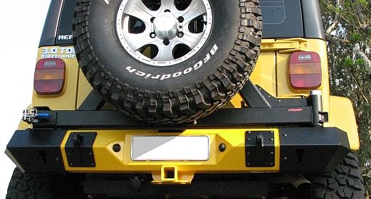 Para-choque traseiro Troller – modelo 1