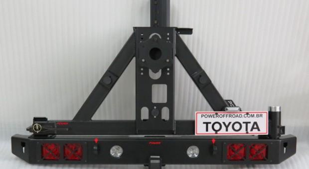 Para-choque traseiro para Toyota Bandeirante