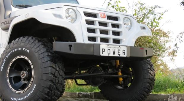 Para-choque dianteiro Troller – modelo 3
