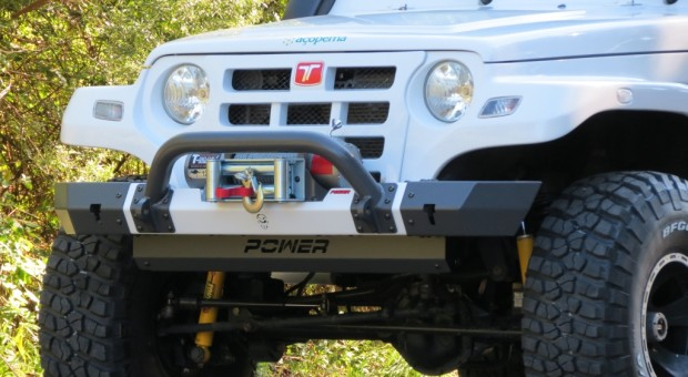 Para-choque dianteiro Troller – modelo 4