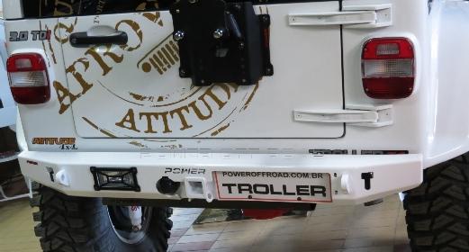 Para-choque Traseiro Troller – modelo 2