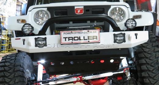 Para-choque Dianteiro Troller – modelo 2