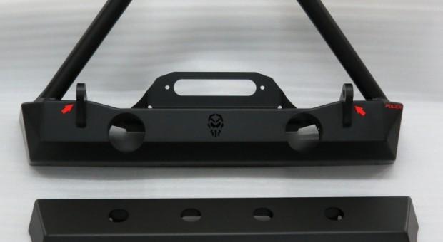 Para-choque dianteiro Wrangler – modelo 3