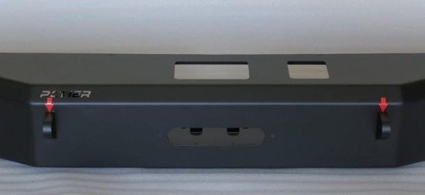 Para-choque traseiro Wrangler JK – mod. 2 – C/ base de guincho