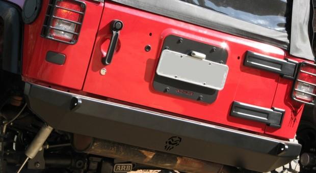 Para-choque traseiro Wrangler JK – modelo 4