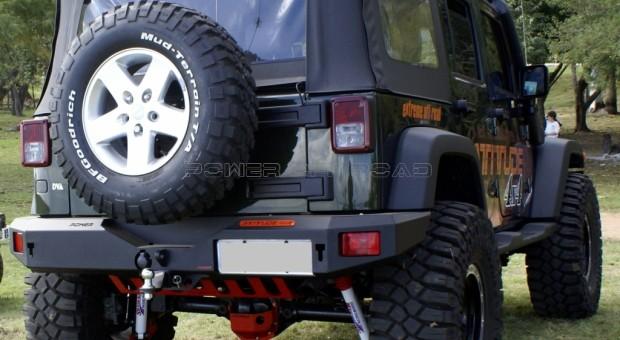 Para-choque traseiro Wrangler JK – Modelo 1